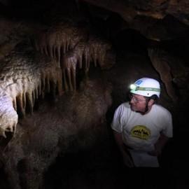 A trip in a cave