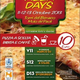Pizza days @Torri