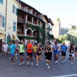 The traditional foot race