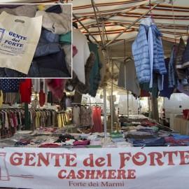 A special market day: Mercato del Forte