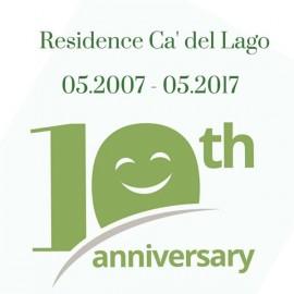 Happy birthday Ca´ del Lago!